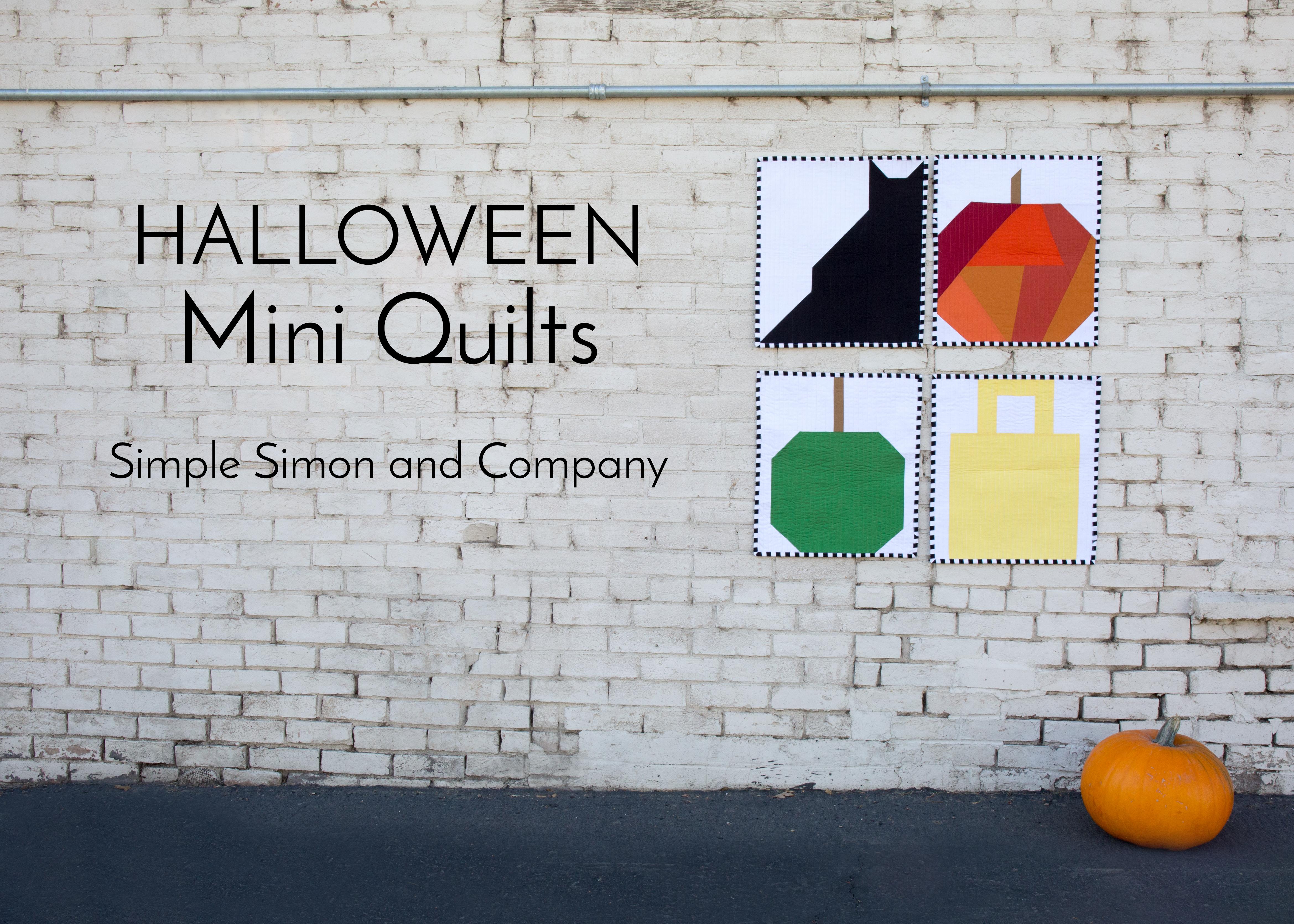 Halloween Mini Quilts–Part I