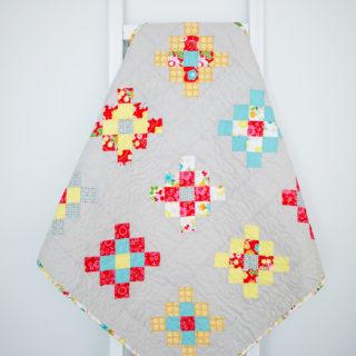 Granny-Squared Quilt Block Tutorial