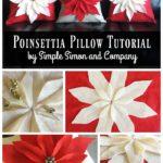 Poinsettia Pillow Tutorial (and kits)
