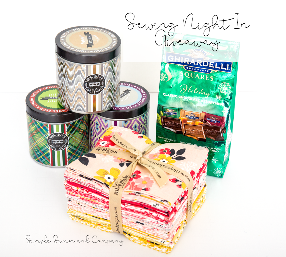 Sewing Night-In Giveaway