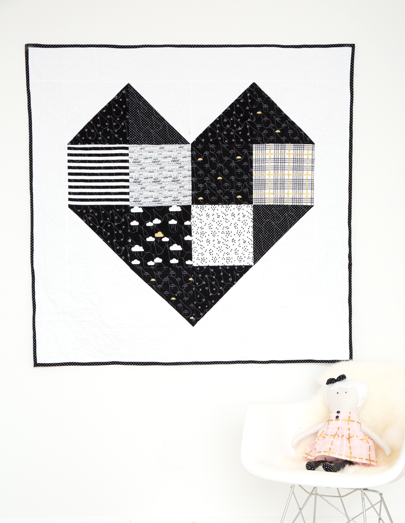 Heart Baby FToddler Quilt Kits And Free Pattern