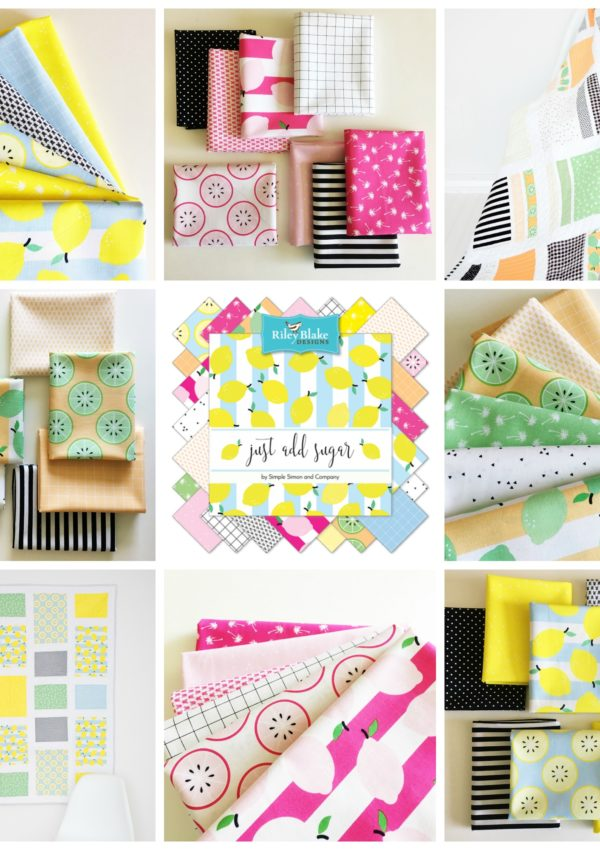 Just Add Sugar Fabrics…NOW in shops!