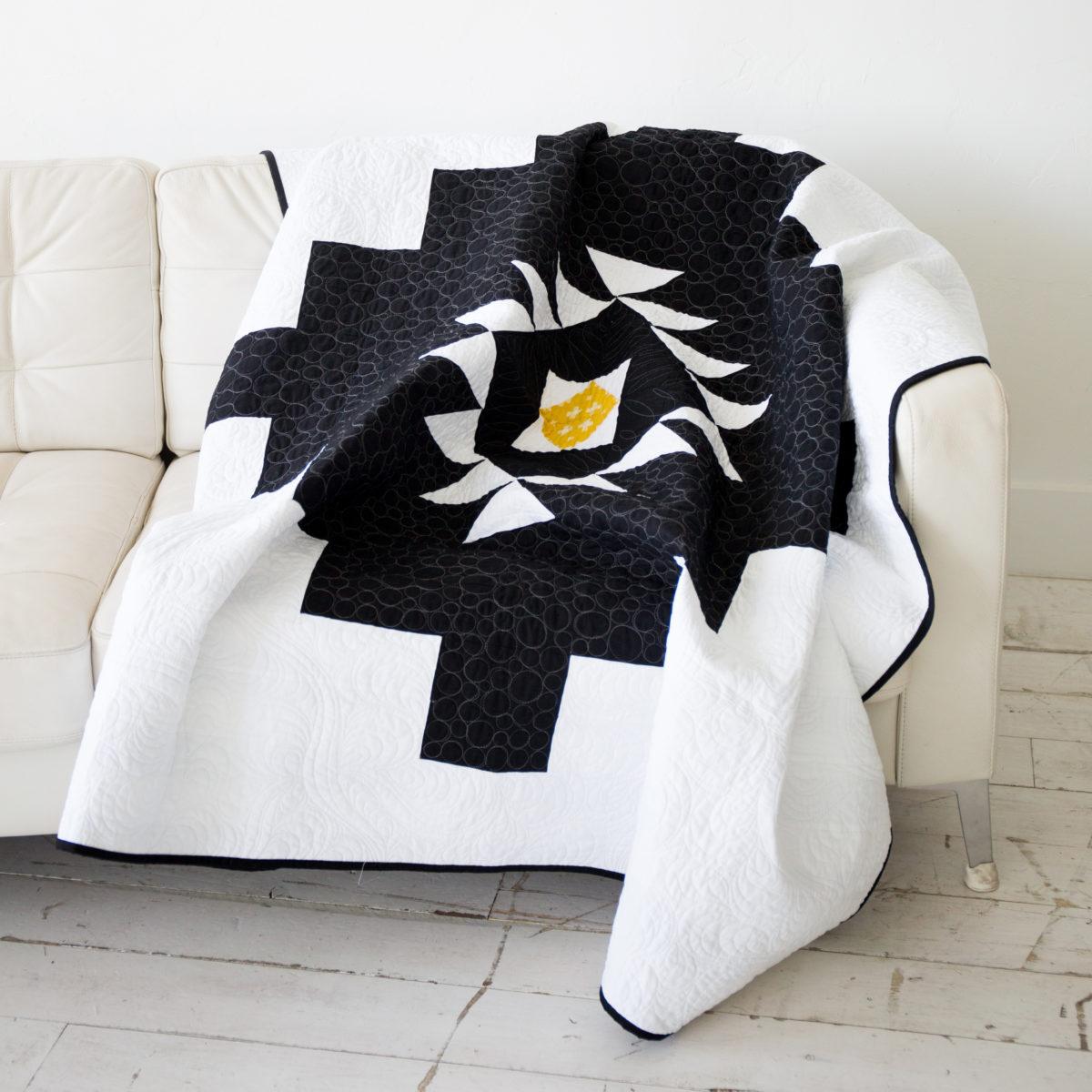 Modern Quilt--Desert Oasis Quilt