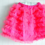 It's FINALLY done…the $5 Tulle Ruffle Skirt