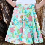 A Circle Skirt…..WITH POCKETS! (And a tutorial for the pockets)