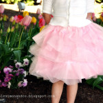 The Cotton Candy Skirt–A New Tulle Skirt