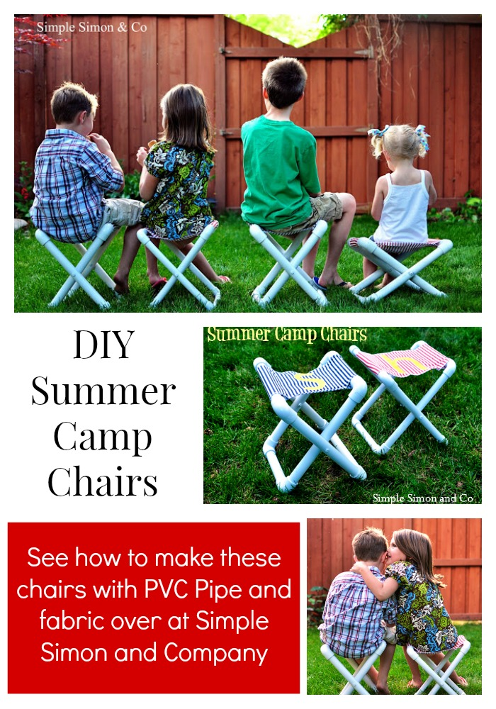 PVC Pipe Chairs Collage