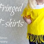 Fringed and Slashed T-Shirts for $5 Friday
