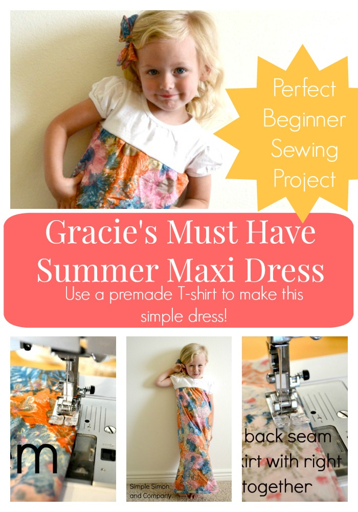 Gracie's Must Have Summer Maxi Dress Collage