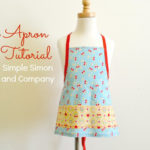 Aprons for Mom & Me & Little Sister: And a Toddler Apron Pattern and Tutorial