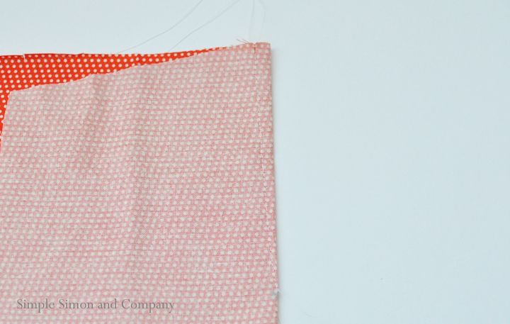 how to sew a dart--step 7