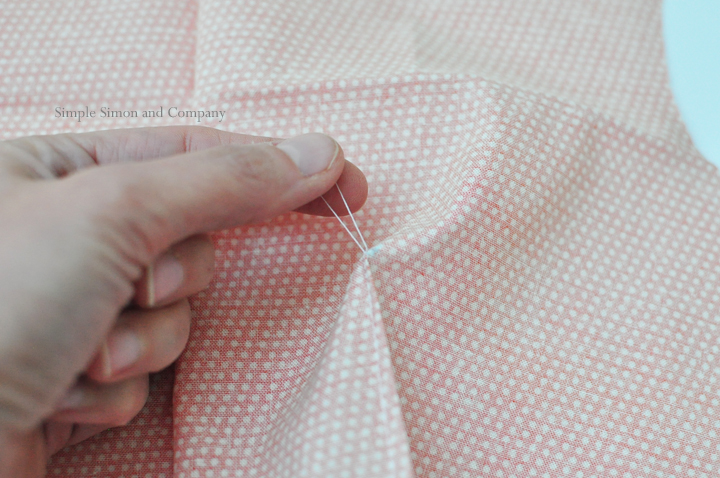 how to sew a dart--step 8