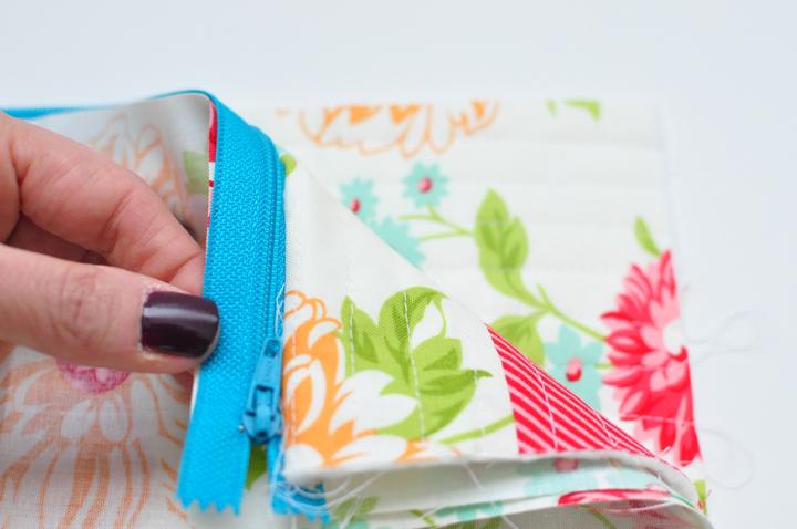 zipper bag step1