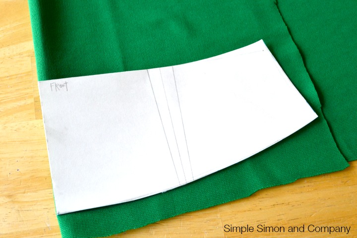 Knit Pencil Skirt Tutorial Step 2