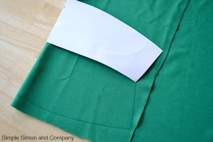 Knit Pencil Skirt Tutorial Step 3