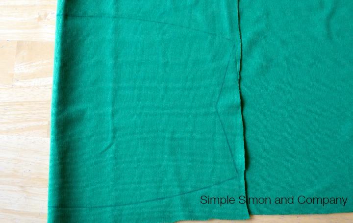Knit Pencil Skirt Tutorial Step 4