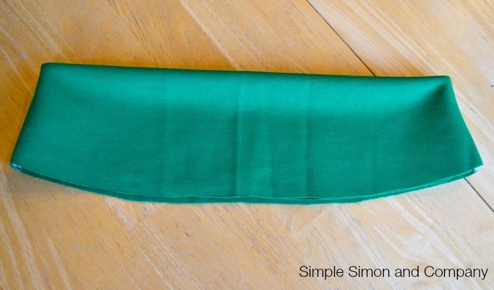 Knit Pencil Skirt Tutorial Step 7