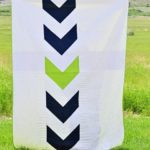 An Arrow Quilt for a Boy's Room