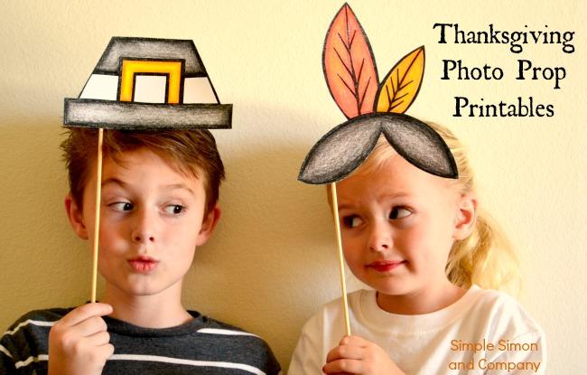 Thanksgiving Photo Prop