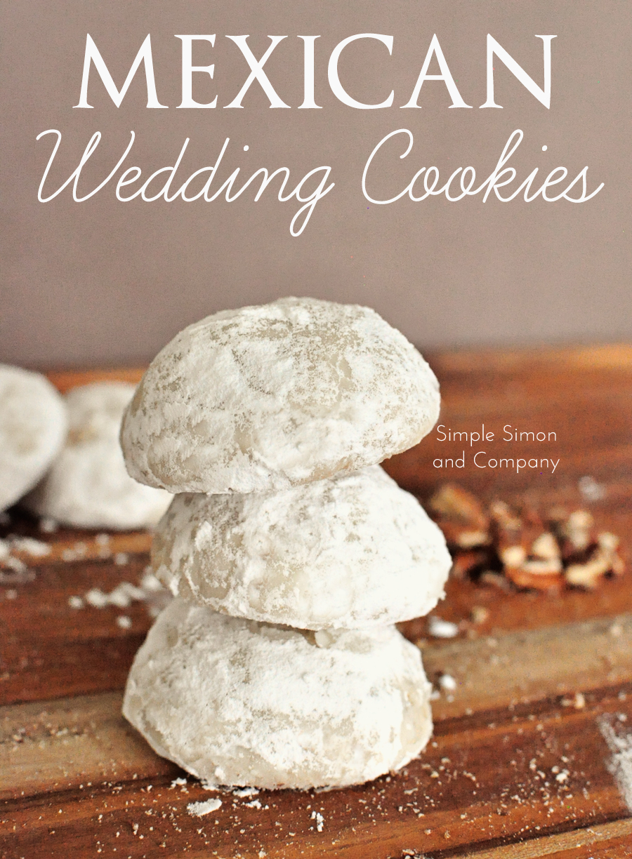 mexican wedding cake cookies with pecans mexican wedding cookies simple simon and company 17303