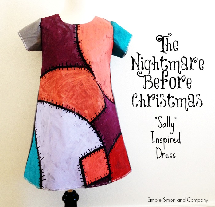 The Nightmare Before Christmas Sally Inspired Dress