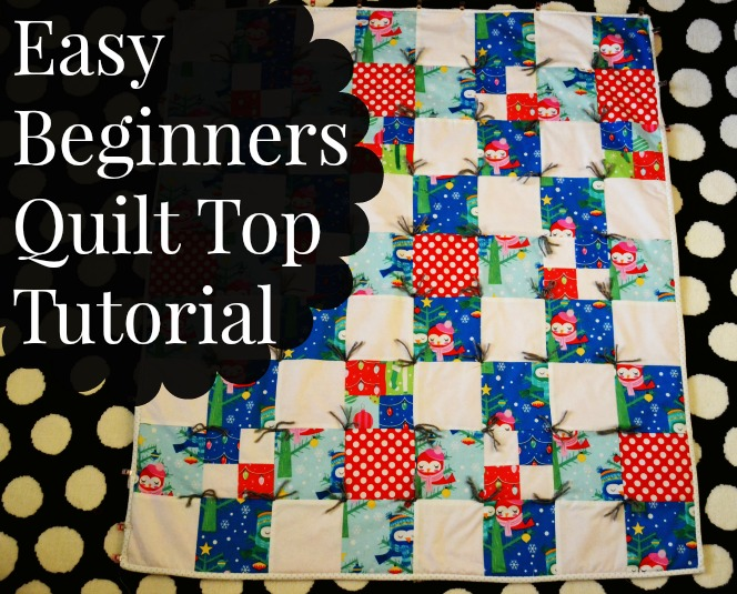 Easy Beginner Quilt Top Tutorial-Mostly - Simple Simon and Company