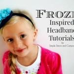 Frozen Inspired Headbands