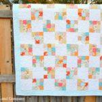 Nine Patch Quilt Block Tutorial