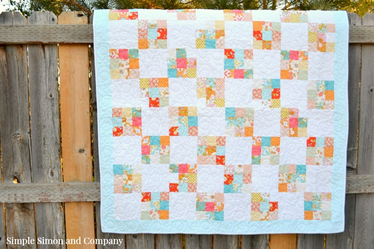 Nine Patch Quilt Block Tutorial - Simple Simon and Company : free 9 inch quilt block patterns - Adamdwight.com