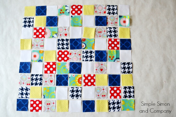 Easy Quilt Layouts for Beginning Quilters - Simple Simon and Company : photo quilt squares - Adamdwight.com