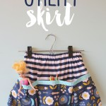 Skirting the Issue: A Girl and a Glue Gun and Sewing Mama RaeAnna