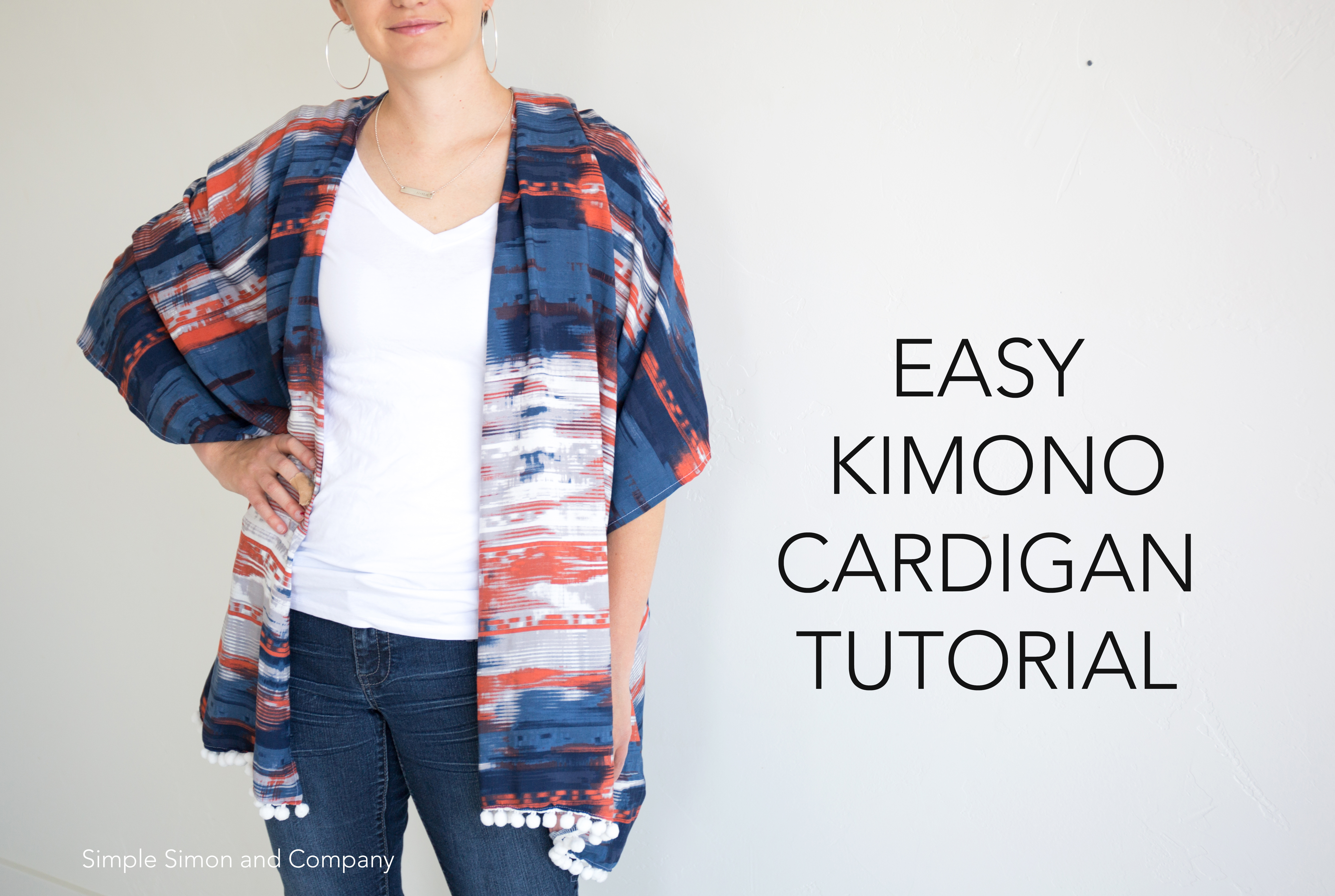 DIY Kimono Cardigan - Simple Simon and Company