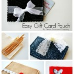 Easy Gift Card Pouches