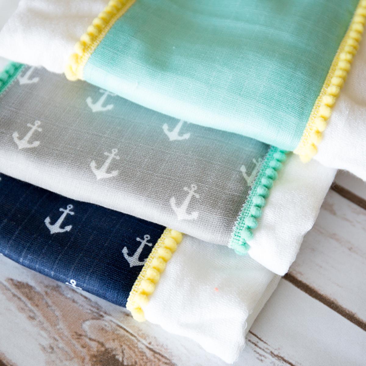 Simple burp cloth tutorial simple simon and company baditri Image collections
