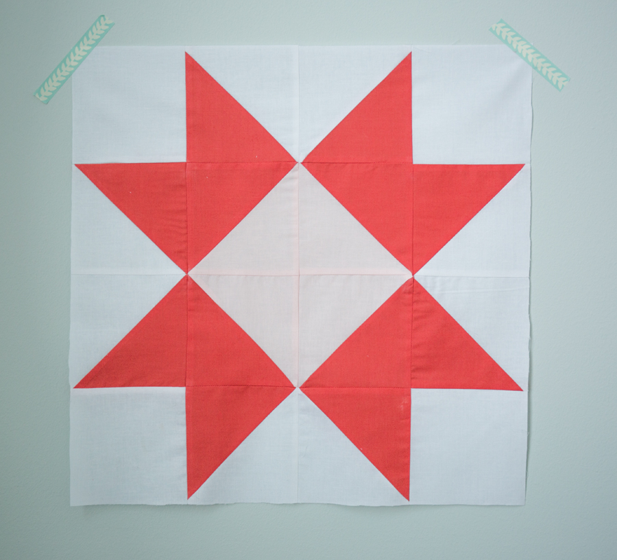 Quilt Block Of The Month The Ribbon Star Quilt Block