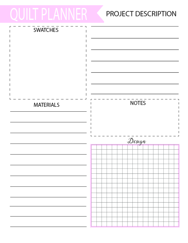 Free Quilting And Sewing Planners Simple Simon Company
