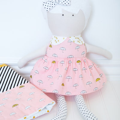 When Skies are Grey Doll and Quilt