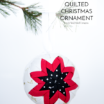 No Sew Quilted Christmas Ornaments