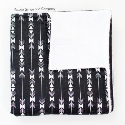 10 Minute Flannel Blanket Tutorial