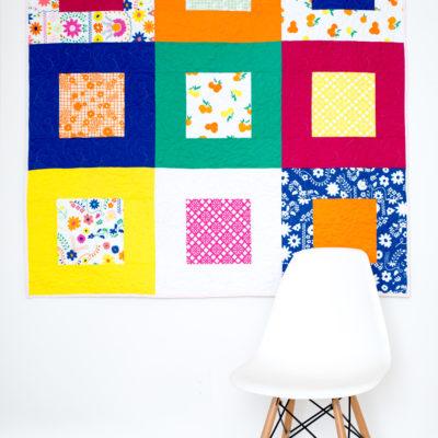 Picnic Quilt Tutorial (with Fiesta Fun fabrics)