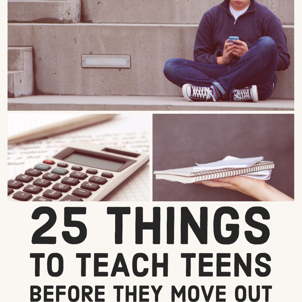 The Art Of Homemaking: 25 Things To Teach Teens Before