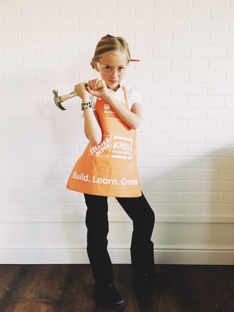 More than 25 easy costumes to make using black pants and a for Home depot sister companies