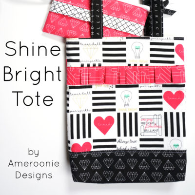Shine Bright Tote Bag Tutorial