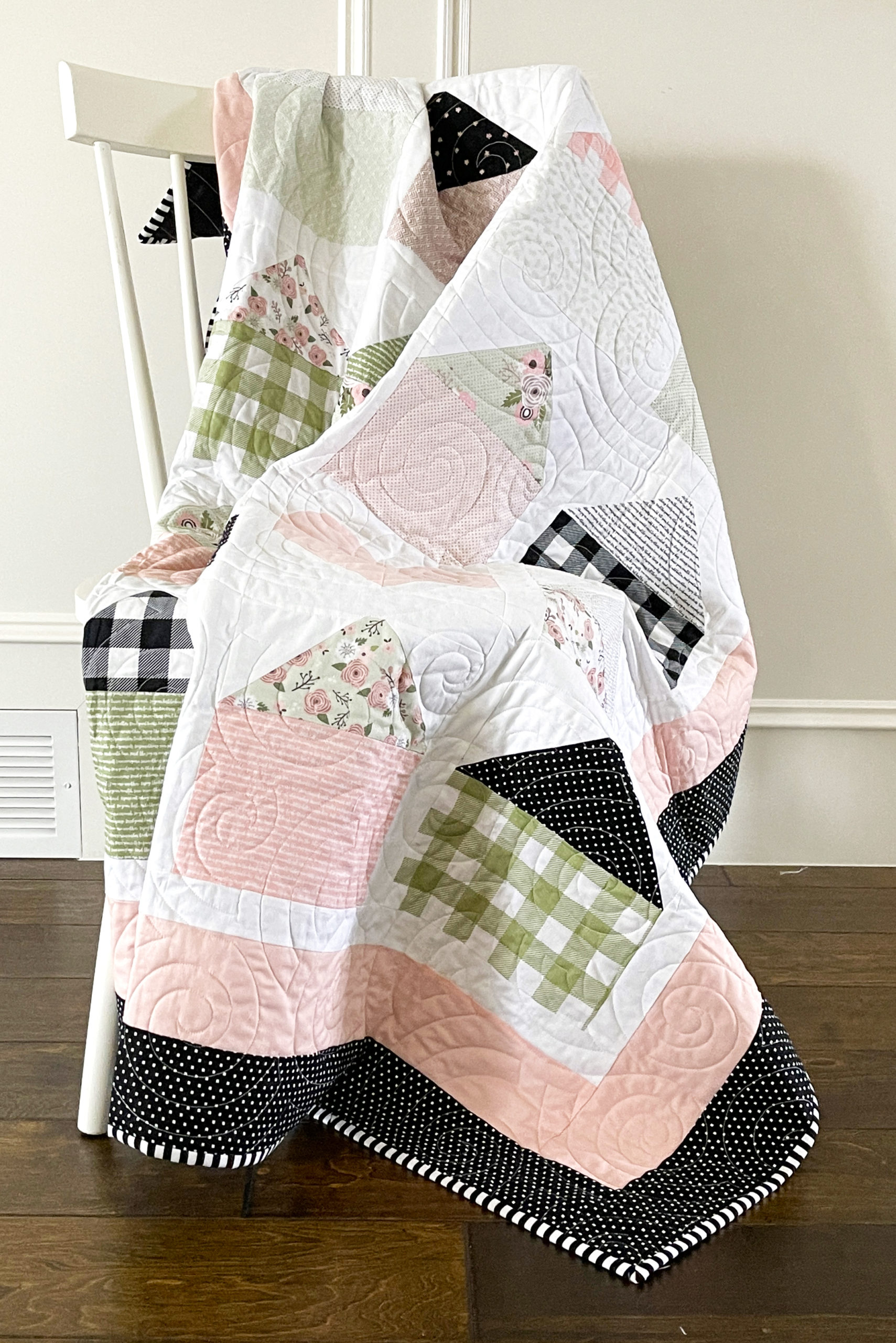 Home Is Where The Heart Is Quilt Pattern Pieced KN